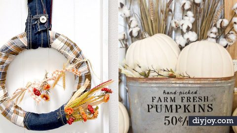 45 Fall Decorating Ideas for The Home | DIY Joy Projects and Crafts Ideas