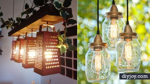 50 Indoor Lighting Ideas For Your DIY List   DIY Joy Projects and Crafts Ideas