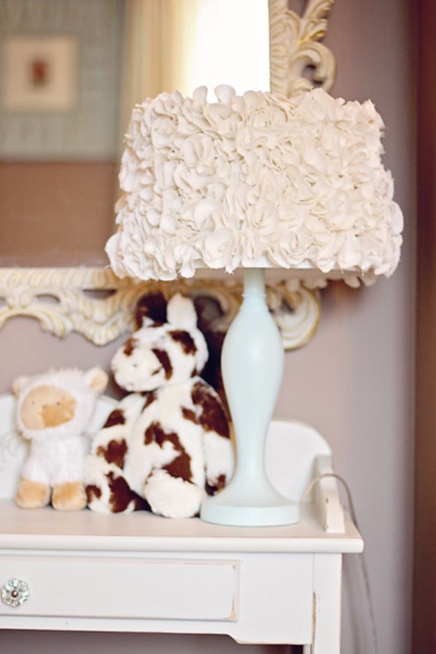 DIY Lighting Ideas and Cool DIY Light Projects for the Home - Anthropologie Inspired Lamp - Easy DIY Ideas for Chandeliers, lights, lamps, awesome pendants and creative hanging fixtures, complete with tutorials with instructions. Cheap do it yourself lighting tutorials for indoor - bedroom, living room, bathroom, kitchen DIY Projects and Crafts for Women and Men