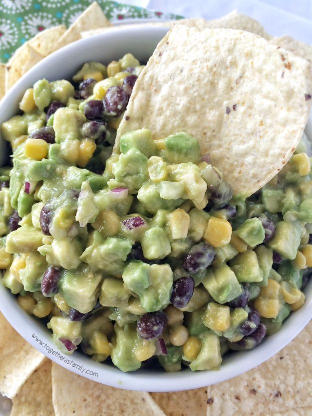 Best Dip Recipes - Avocado Dip - Easy Recipe Ideas for A Party Appetizer - Cold Recipe Ideas for Chips, Crockpot, Mexican Bean Dip, Desserts and Healthy Fruit Options - Italian Dressing and Ranch Dip Recipe Ideas http://diyjoy.com/best-dip-recipes