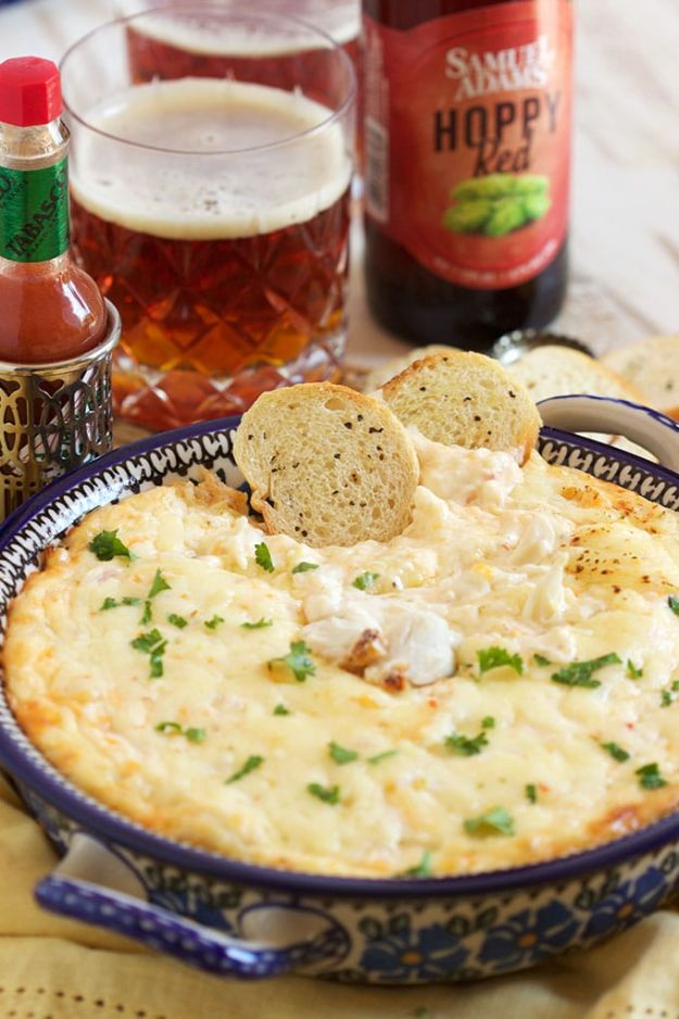 Best Dip Recipes - Best Hot Crab Dip - Easy Recipe Ideas for A Party Appetizer - Cold Recipe Ideas for Chips, Crockpot, Mexican Bean Dip, Desserts and Healthy Fruit Options - Italian Dressing and Ranch Dip Recipe Ideas http://diyjoy.com/best-dip-recipes