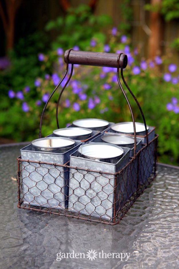 DIY Ideas for Candles - Citronella Candles - Cute, Cheap and Creative Ways to Decorate With Candles - Votives and Candle Holders Make Some Of Our Favorite Home Decor Ideas and Homemade Do It Yourself Gifts - Give One of These Inexpensive Ideas to Mom, Dad and Friends - Easy Dollar Store Crafts With Candle http://diyjoy.com/diy-ideas-candles