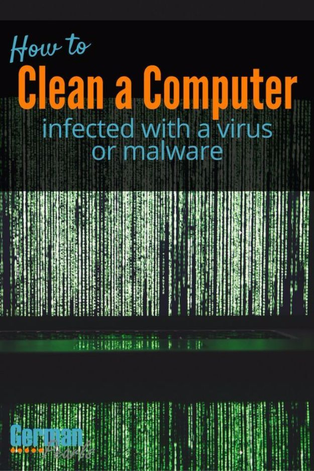 DIY Ideas for Your Computer - Clean a Computer that's Infected with Virus or Malware - Cool Desk, Home Office, Bulletin Boards and Tech Projects for Kids, Awesome Tips and Tricks for Your Laptop and Desktop, Best Shortcuts and Neat Ways To Make Your Computer Even Better With Productivity Tips http://diyjoy.com/diy-ideas-computer