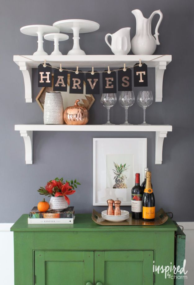 Best Crafts for Fall Decorating - DIY Fall Tag Banners - DIY Home Decor, Mason Jar Ideas, Dollar Store Crafts, Rustic Pumpkin Ideas, Wreaths, Candles and Wall Art, Centerpieces, Wedding Decorations, Homemade Gifts, Craft Projects with Leaves, Flowers and Burlap, Painted Art, Candles and Luminaries for Cool Home Decor - Quick and Easy Projects With Step by Step Tutorials and Instructions