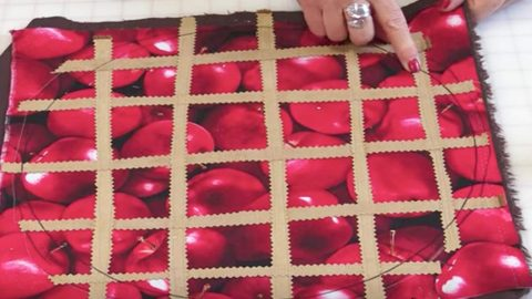 DIY Napkins and Placemats - DIY Fruit Fabric Placemat - Easy Sewing Projects, Cute No Sew Ideas and Creative Ways To Make a Napkin or Placemat - Quick DIY Gift Ideas for Friends, Family and Awesome Home Decor - Cheap Do It Yourself Kitchen Decor - Simple Wedding Gifts You Can Make On A Budget