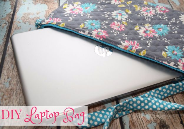 DIY Ideas for Your Computer - DIY Laptop Bag - Cool Desk, Home Office, Bulletin Boards and Tech Projects for Kids, Awesome Tips and Tricks for Your Laptop and Desktop, Best Shortcuts and Neat Ways To Make Your Computer Even Better With Productivity Tips http://diyjoy.com/diy-ideas-computer
