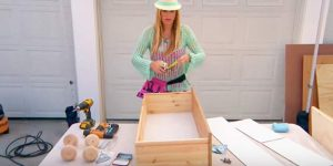 She Takes An Old Dresser Drawer And What She Does With It Is Genius. Watch!
