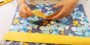 Sewing Tutorial- 15 Minute Placemats
