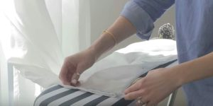 She's Shares A Secret With Us…The Quickest And Easiest Way To Hem Curtains!