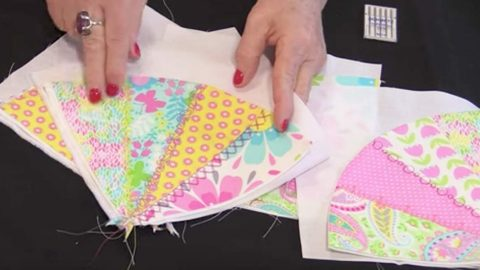 She Cuts From One Corner To The Other, Forming Triangles. What She Makes Is Stunning! | DIY Joy Projects and Crafts Ideas