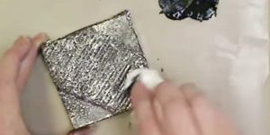 She Scrunches Up Aluminum Foil And What She Does Next Looks Just Like Forged Metal