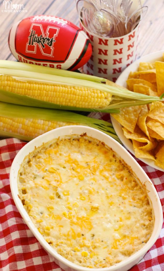 Best Dip Recipes - Hot Corn Dip - Easy Recipe Ideas for A Party Appetizer - Cold Recipe Ideas for Chips, Crockpot, Mexican Bean Dip, Desserts and Healthy Fruit Options - Italian Dressing and Ranch Dip Recipe Ideas http://diyjoy.com/best-dip-recipes