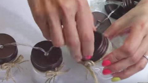 She Bought Mini Mason Jars At The Dollar Store And What She Does With Them Is So Clever! | DIY Joy Projects and Crafts Ideas