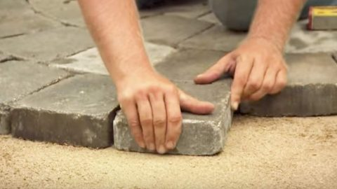 He Lays Stone In A Circle And You'll Want This When You See The Next Thing He Does! | DIY Joy Projects and Crafts Ideas
