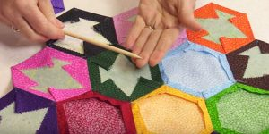 She Wraps Fabric Around A Piece Of Cardboard And What She Makes Is So Beautiful!