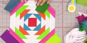 She Uses Multiple Layers And Fabrics And What She Creates Is A Work Of Art. Watch!