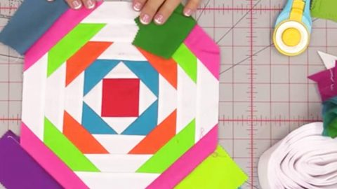 She Uses Multiple Layers And Fabrics And What She Creates Is A Work Of Art. Watch! | DIY Joy Projects and Crafts Ideas