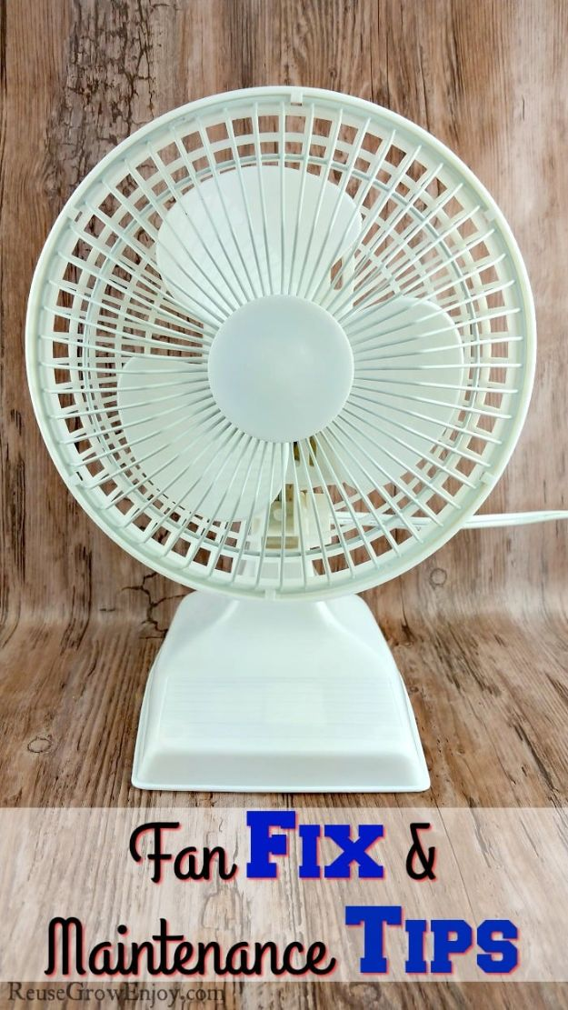 Easy Home Repair Hacks - Repair Fan - Quick Ways To Fix Your Home With Cheap and Fast DIY Projects - Step by step Tutorials, Good Ideas for Renovating, Simple Tips and Tricks for Home Improvement on A Budget #diy #homeimprovement