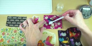 She Pours Resin Directly Onto Fabric And You Won't Believe What She Makes. Watch!