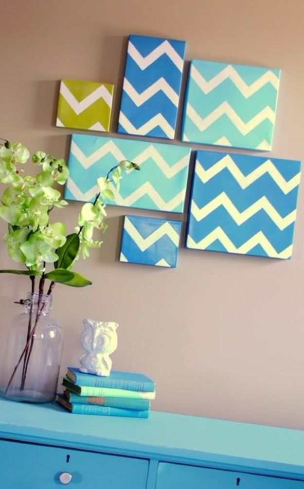 DIY Ideas With Shoe Boxes - Shoe Box Wall Decor - Shoe Box Crafts and Organizers for Storage - How To Make A Shelf, Makeup Organizer, Kids Room Decoration, Storage Ideas Projects - Cheap Home Decor DIY Ideas for Kids, Adults and Teens Rooms #diyideas #upcycle
