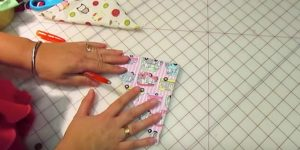 She Sews 2 Pieces Of Fabric Together…What She Makes Is An Item We All Need And Use