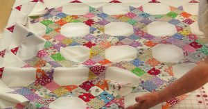 Diagonal Rows Quilt: Sewing Tutorial