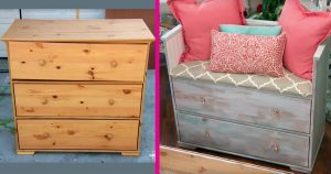 In Just A Few Hours, You Can Turn An Old Dresser Into Your Living Room' Star Attraction