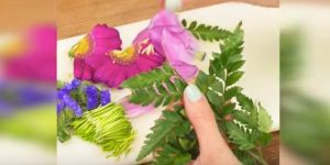 She Cuts Flowers And What She Does With Them Will Surprise You. Watch!