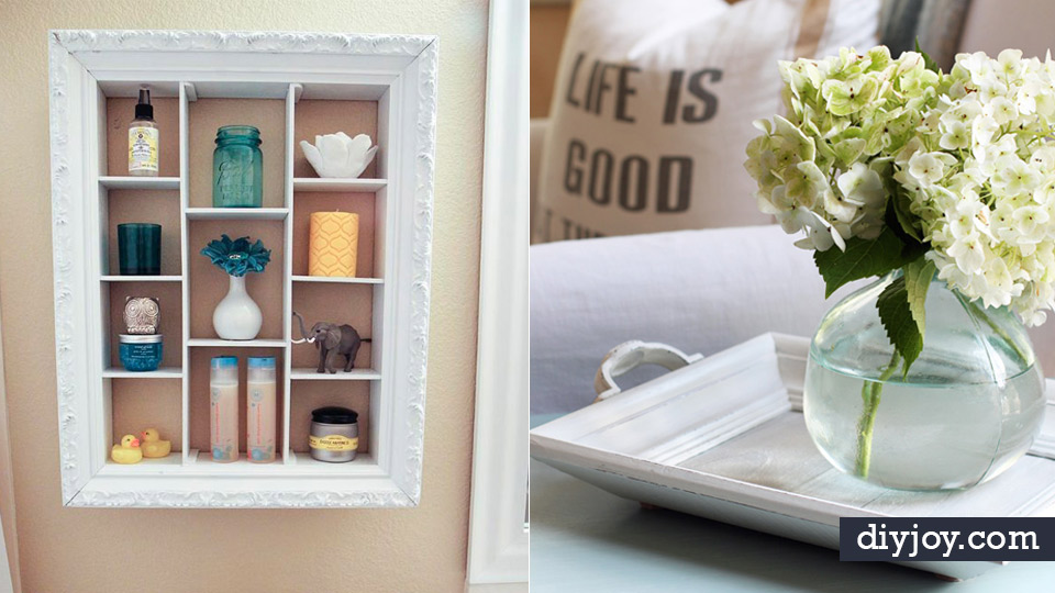 DIY Ideas With Old Picture Frames - Cool Crafts To Make With A ...