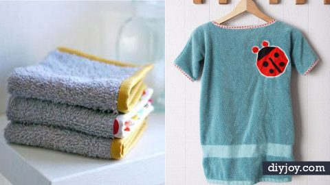 34 Easy DIY Ideas for Old Towels | DIY Joy Projects and Crafts Ideas