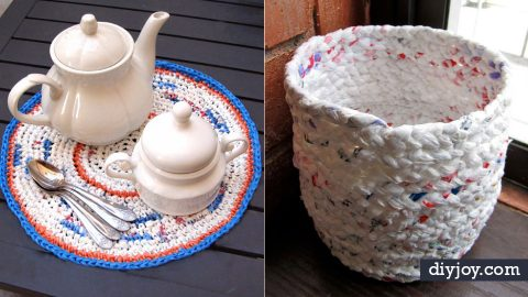 34 Cool DIY Ideas With Plastic Bags | DIY Joy Projects and Crafts Ideas