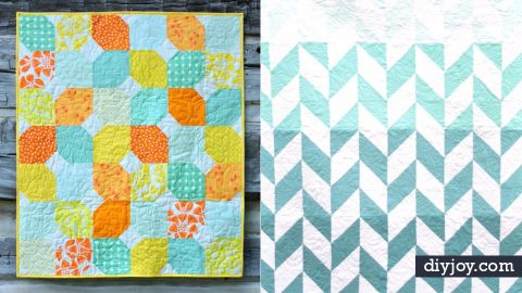 35 Easy Quilts To Make This Weekend | DIY Joy Projects and Crafts Ideas