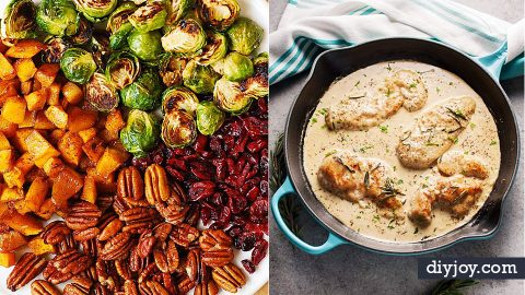37 Fall Dinner Recipe Ideas   DIY Joy Projects and Crafts Ideas