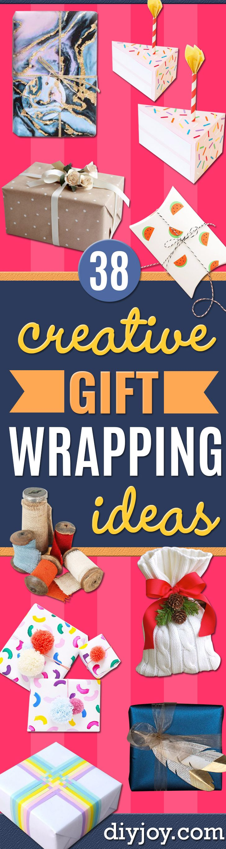 Cool Gift Wrapping Ideas - Creative Ways To Wrap Presents on A Budget - Best Christmas Gift Wrap Ideas - How To Make Gift Bags, Reuse Wrapping Paper, Make Bows and Tags - Cute and Easy Ideas for Wrapping Gifts for the Holidays - Step by Step Instructions and Photo Tutorials