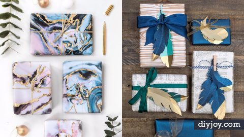 38 Creative Gift Wrapping Ideas You'll Want to Try Today | DIY Joy Projects and Crafts Ideas