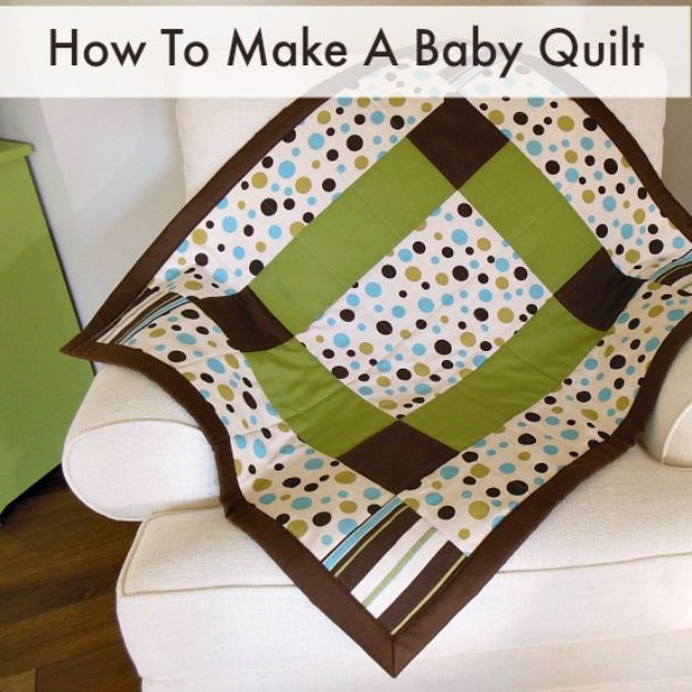 Best Quilts to Make This Weekend - Baby Quilt - Free Quilt Patterns and Quilting Tutorials - Quilting for Beginners and Sewing Ideas - DIY Baby Quilts, Printables, New and Easy Modern Quilts, Jelly Roll, Quilt Squares, Fat Quarters and Scrap Ideas #diy #quilting #sewing