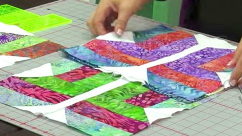 She Cuts Strips Of Fabric, Arranging In A Design We All Love, Making An Amazing Quilt! | DIY Joy Projects and Crafts Ideas