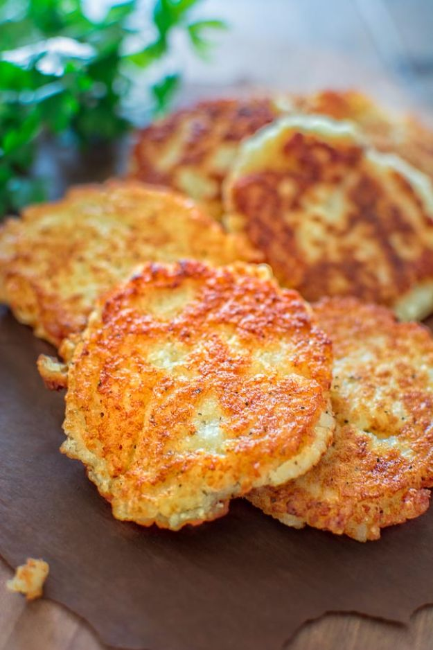 Potato Recipes - Classic Potato Pancakes - Easy, Quick and Healthy Potato Recipes - How To Make Roasted, In Oven, Fried, Mashed and Red Potatoes - Easy Potato Side Dishes and Soup Recipe Ideas for Dinner, Breakfast, Lunch, Appetizer and Snack http://diyjoy.com/potato-recipes
