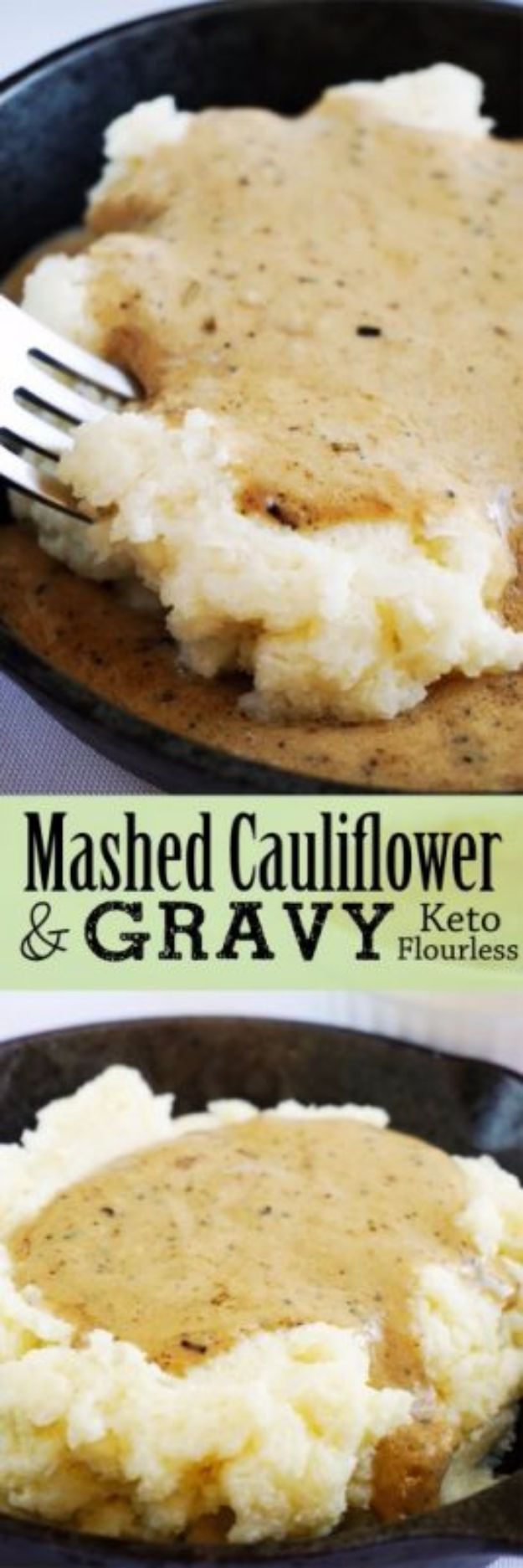 Best Thanksgiving Side Dishes - Creamy Cauliflower Mash - Easy Make Ahead and Crockpot Versions of the Best Thanksgiving Recipes #thanksgiving #recipes