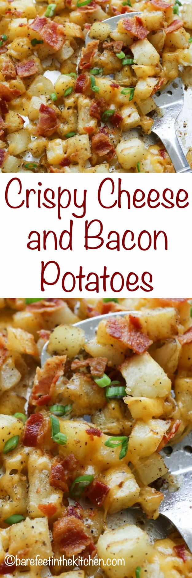Potato Recipes - Crispy Cheese and Bacon Potatoes - Easy, Quick and Healthy Potato Recipes - How To Make Roasted, In Oven, Fried, Mashed and Red Potatoes - Easy Potato Side Dishes and Soup Recipe Ideas for Dinner, Breakfast, Lunch, Appetizer and Snack http://diyjoy.com/potato-recipes