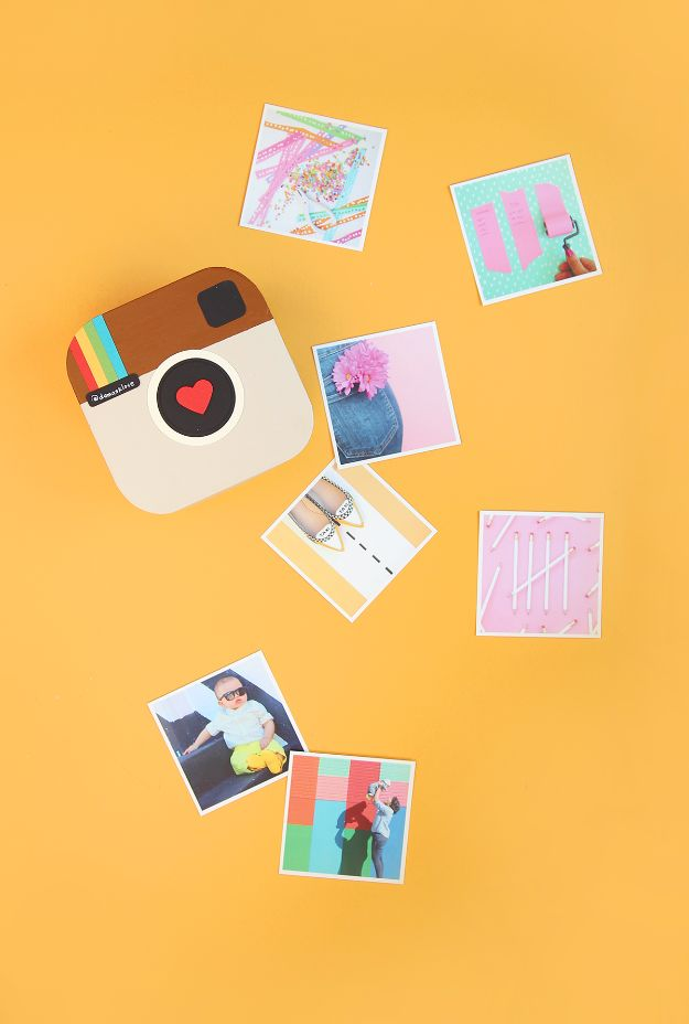 Cool Gifts to Make For Mom - DIY Instagram in a Box - DIY Gift Ideas and Christmas Presents for Your Mother, Mother-In-Law, Grandma, Stepmom - Creative , Holiday Crafts and Cheap DIY Gifts for The Holidays - Thoughtful Homemade Spa Day Gifts, Creative Wall Art, Special Ideas for Her - Easy Xmas Gifts to Make With Step by Step Tutorials and Instructions #diygifts #mom