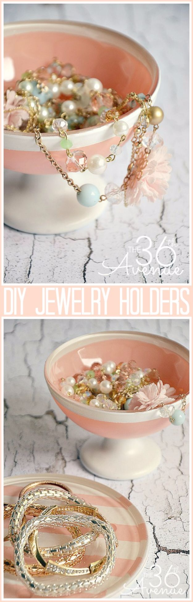 Last Minute Christmas Gifts - DIY Jewelry Holder - Quick DIY Gift Ideas and Easy Christmas Presents To Make for Mom, Dad, Family and Friends - Dollar Store Crafts and Cheap Homemade Gifts