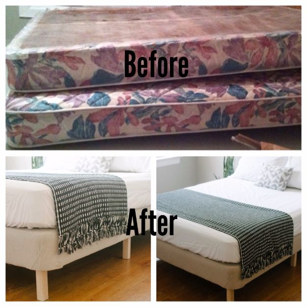 DIY Platform Beds - DIY Modern Bed - Easy Do It Yourself Bed Projects - Step by Step Tutorials for Bedroom Furniture - Learn How To Make Twin, Full, King and Queen Size Platforms - With Headboard, Storage, Drawers, Made from Pallets - Cheap Ideas You Can Make on a Budget http://diyjoy.com/diy-platform-beds