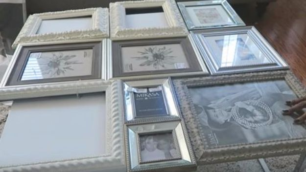 DIY Ideas With Old Picture Frames - DIY Picture Frames Table - Cool Crafts To Make With A Repurposed Picture Frame - Cheap Do It Yourself Gifts and Home Decor on A Budget - Fun Ideas for Decorating Your House and Room http://diyjoy.com/diy-ideas-picture-frames