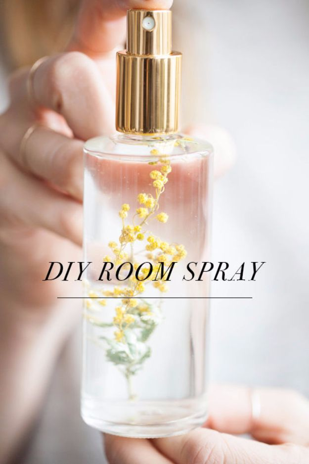 Cheap DIY Gifts and Inexpensive Homemade Christmas Gift Ideas for People on A Budget - DIY Room Spray - To Make These Cool Presents Instead of Buying for the Holidays - Easy and Low Cost Gifts for Mom, Dad, Friends and Family - Quick Dollar Store Crafts and Projects for Xmas Gift Giving Parties - Step by Step Tutorials and Instructions http://diyjoy.com/cheap-holiday-gift-ideas-to-make