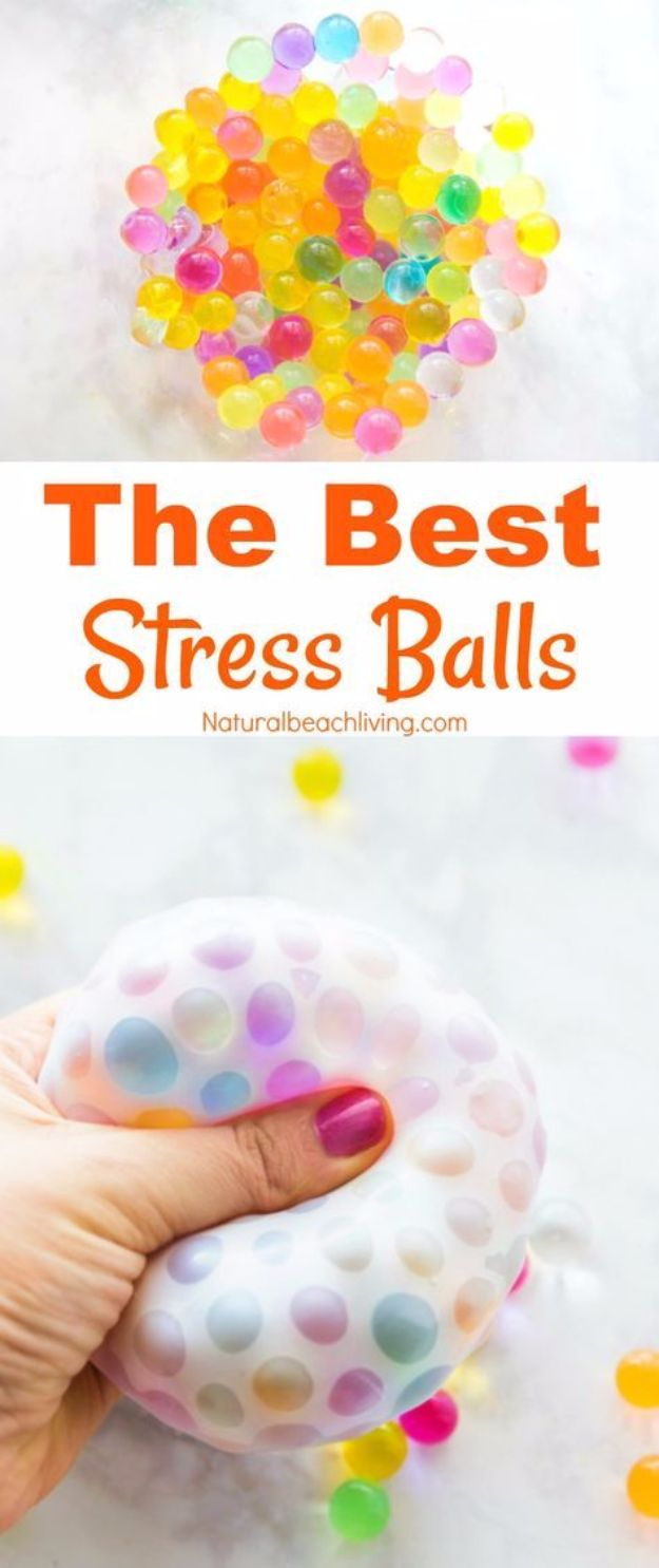 Cheap DIY Gifts and Inexpensive Homemade Christmas Gift Ideas for People on A Budget - DIY Stress Balls - To Make These Cool Presents Instead of Buying for the Holidays - Easy and Low Cost Gifts for Mom, Dad, Friends and Family - Quick Dollar Store Crafts and Projects for Xmas Gift Giving #gifts #diy