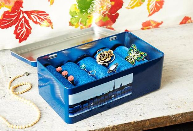 34 Crafty Diy Jewelry Boxes And Storage Ideas
