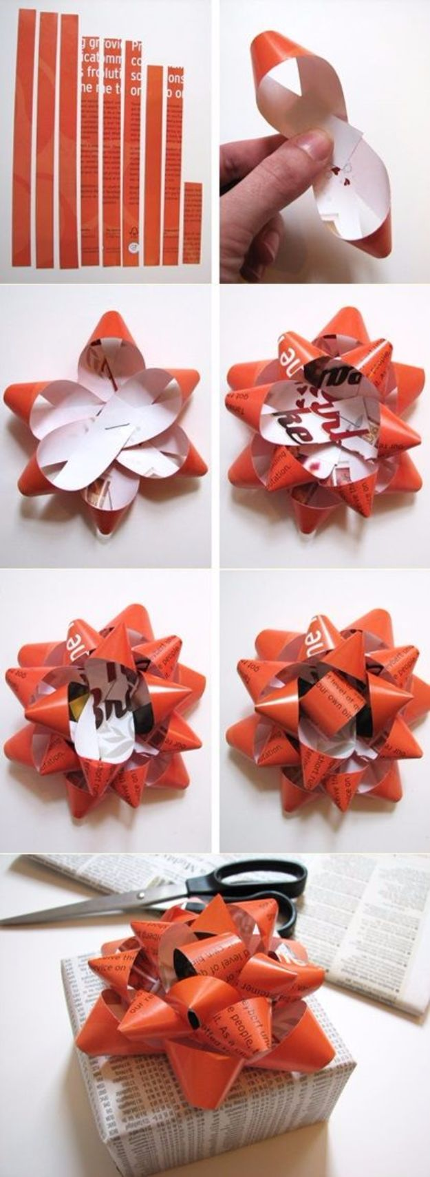 50 Creative Diy Bows To Make For Christmas Packages