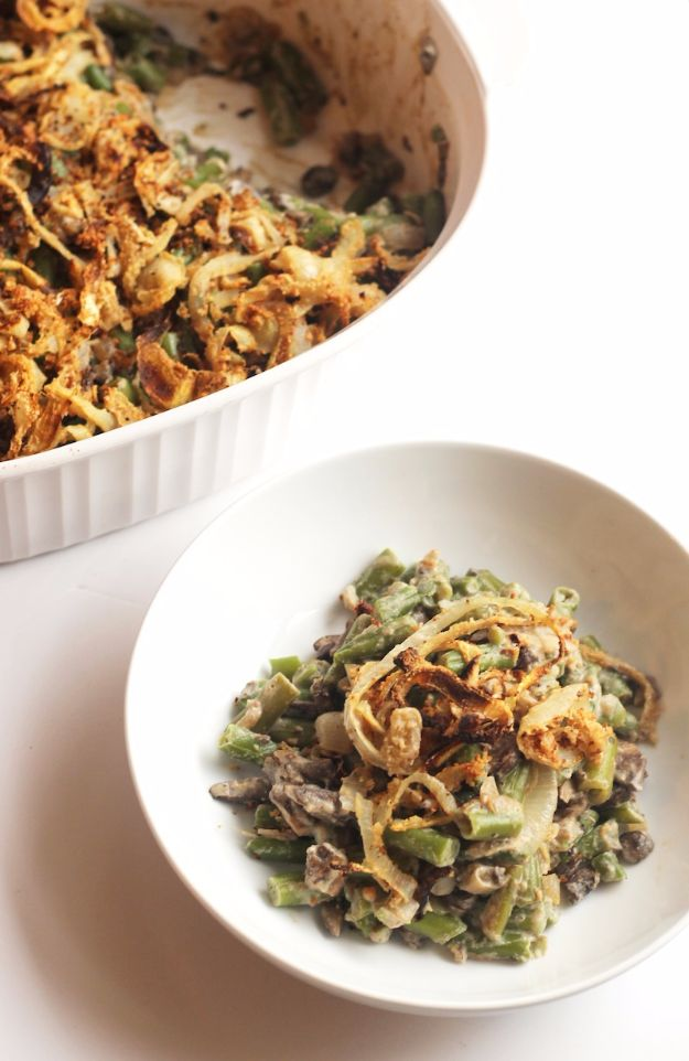 Best Fall Recipes and Ideas for Dinner - Healthy Green Bean Casserole - Quick Meals With Chicken, Beef and Fish, Easy Crockpot Meals and Make Ahead Soups and Dinners - Healthy Dinner Recipes and Fast Last Minute Foods With Spinach, Vegetables, Butternut Squash, Pumpkin and Nuts