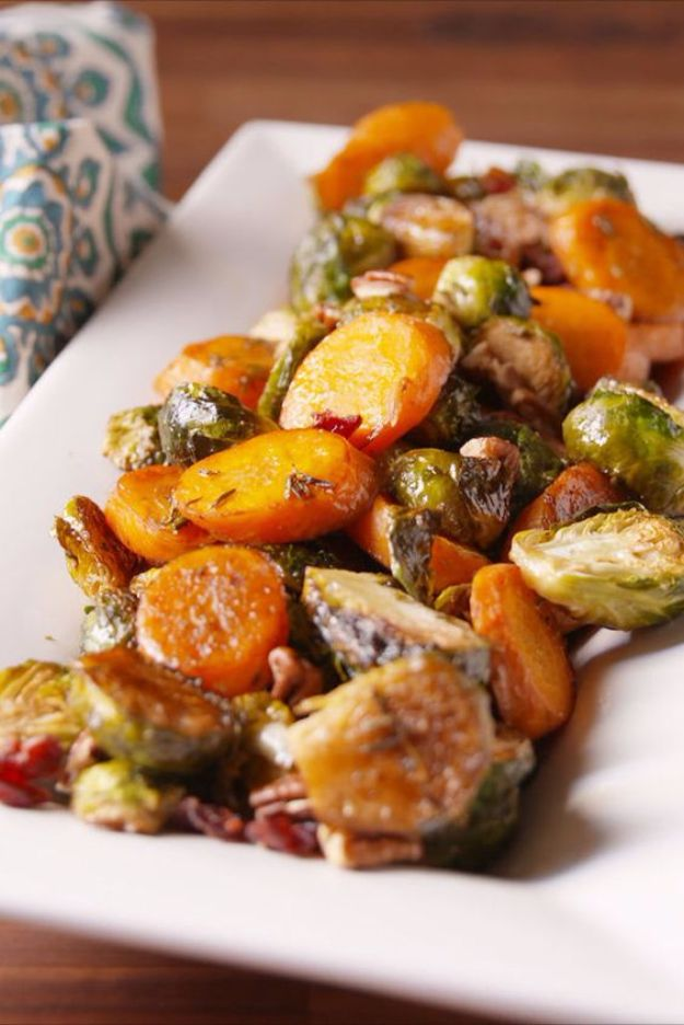 Best Fall Recipes and Ideas for Dinner - Holiday Roasted Vegetables - Quick Meals With Chicken, Beef and Fish, Easy Crockpot Meals and Make Ahead Soups and Dinners - Healthy Dinner Recipes and Fast Last Minute Foods With Spinach, Vegetables, Butternut Squash, Pumpkin and Nuts